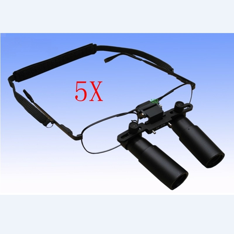 Tools : Professional Medical Dental Loupe 3X 4X 5X 6X 7X Surgical Binocular ENT Kepler Optical Magnifier Microsurgery Magnifying Glasses