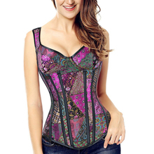 Sexy Corset Overbust Lingerie Wear-Out Erotic-Strap To Design Top-Tummy-Control Belly-Slimming-Bodice