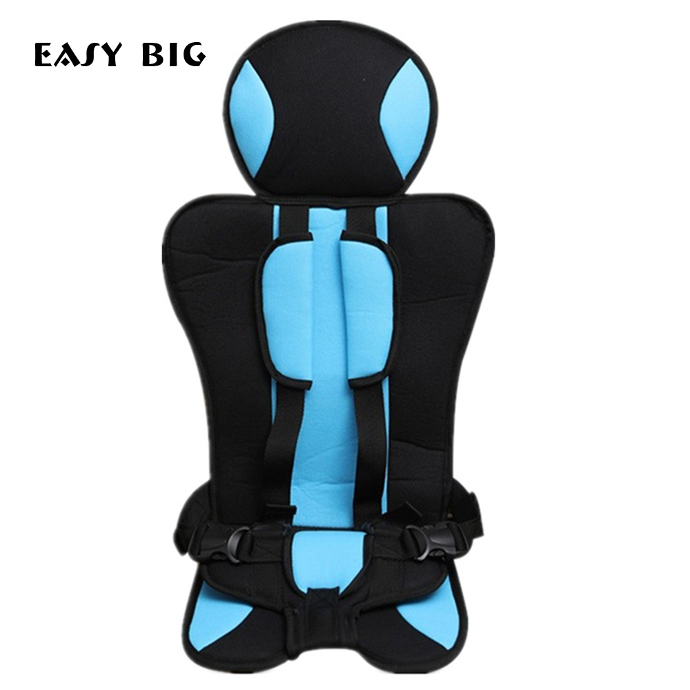 Baby Portable Car Seat Cushion With Infant Safe Belt Fabric Mat Child Car Safety Seats Car Chair For Children BCS0031