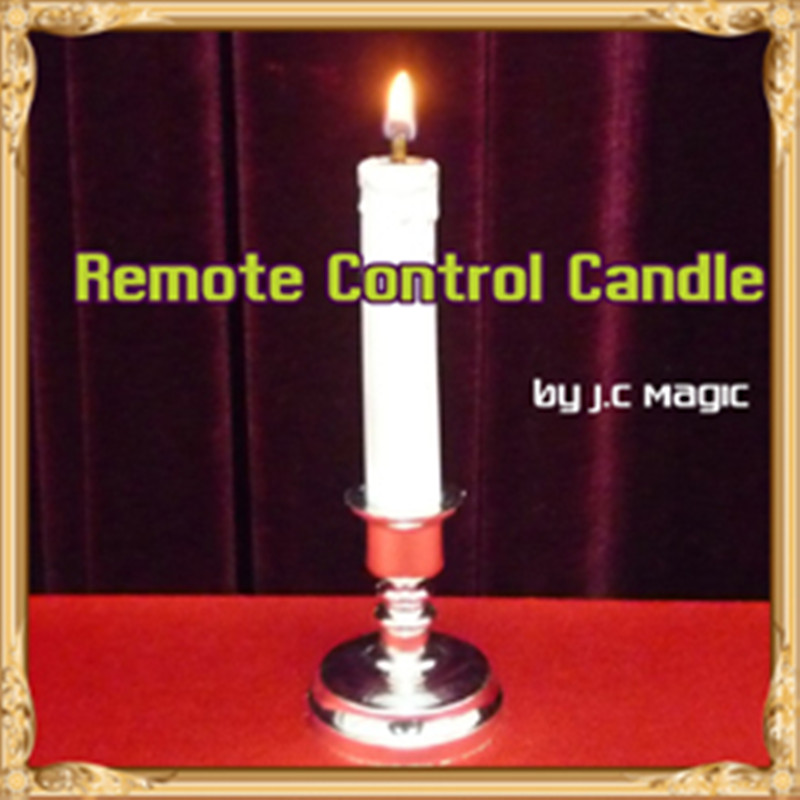 Remote Control Candle Magic Tricks Fire Magie Magician Stage Magic Bar Illusions Gimmick Props Accessories Comedy Mentalism-in Magic Tricks from Toys & Hobbies    1