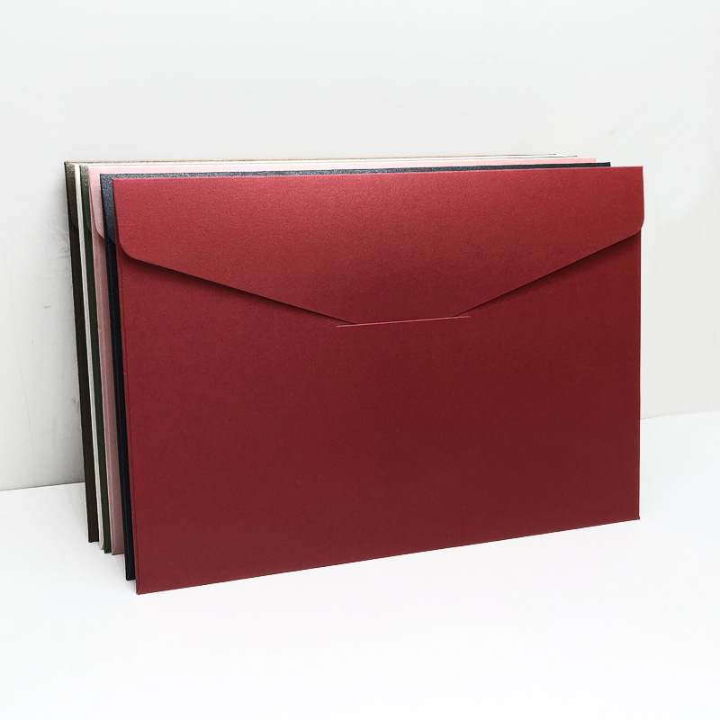 20pcs #7 Envelopes 162mmX229mm C5 Business Invitation Envelopes 250gsm Pearl Paper Envelopes