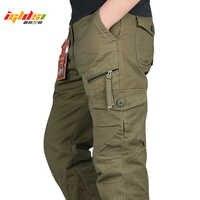 Nouveau 2019 hommes Cargo pantalon Multi poches militaire tactique pantalon hommes Outwear Streetwear armée droite pantalons décontracté pantalons longs