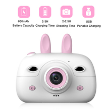Children Mini Camera 18MP Front Rear Dual Cameras 2.4inch Screen Display Kids Ca