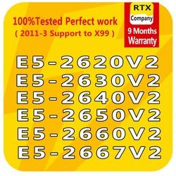 Máy Tính Máy Tính Bộ Vi Xử Lý Intel Xeon E5-2620V2 E5-2630V2 E5-2640V2 E5-2650V2 E5-2660V2 E5-2667V2 CPU 6 Nhân/8 Máy Chủ bộ Vi Xử Lý