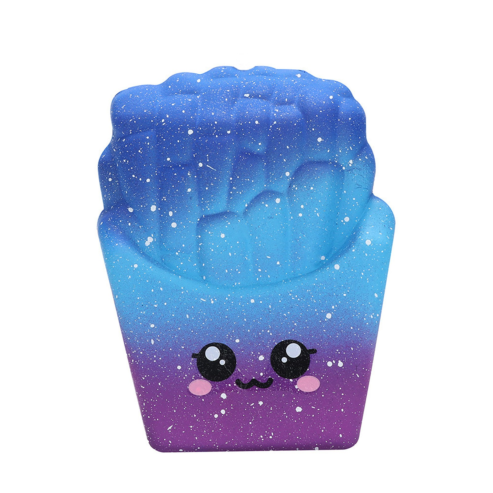 8cm Fidget Toys Galaxy French Fries Squishies Slow Rising Squeeze Scented Stress Relieve Decompression Slow Rebound Squeeze Toy img2