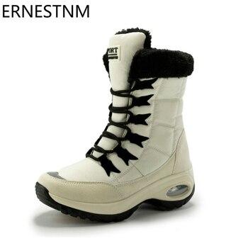 מגפיים איכותיות עם פרווה פנימית לחורף ולשלג