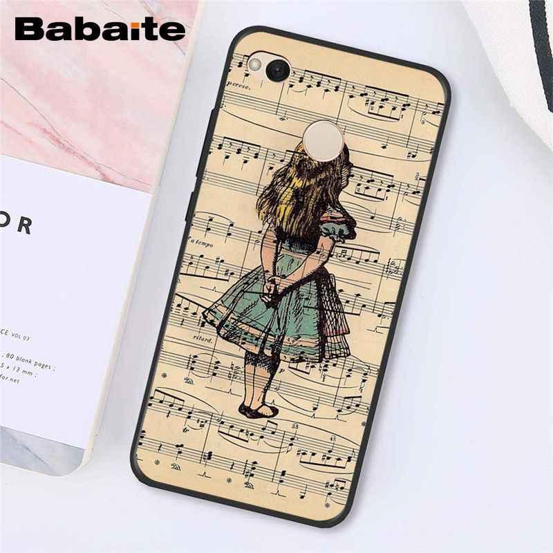 Babaite Notes de Musique Violon Musique Classique étui de téléphone pour xiaomi Note3 mi5 6 A1 A2Lite Mi9 9SE mi8lite Mix2 2S Max2 3