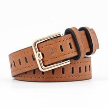 2020 Women belts cow genuine leather pin buckle vintage styl
