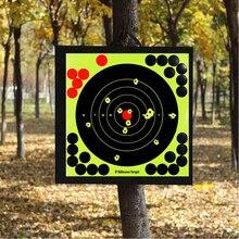8In стрельба мишени наклейки реактивная брызги клей наклейка бумага пистолет стрельба обучение аксессуары