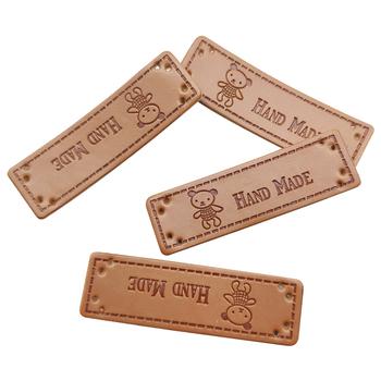 Ręcznie robione etykiety z piękny niedźwiedź do szycia odzieży szycie ręcznie robione tagi z Logo niedźwiedzia na ubranka na prezent ręcznie robione etykiety tanie i dobre opinie drtree CN (pochodzenie) Leather Przyjazne dla środowiska Nadające się do prania HM0051@#DT Metki główne Znaczki do odzieży