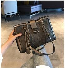 Classic Retro PU Leather Handbag Luxury Tote Bag Designer Ladies Clutch Work Bag Elegant Chain Shoulder Bag for Women Mochila