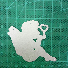 54*46mm angel Love Craft metal cutting dies cut die mold card frame Scrapbook paper craft knife mould blade