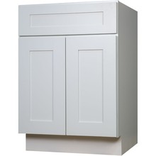 Американский стандарт RTA Белый шейкер из цельного дерева каркасный шкаф