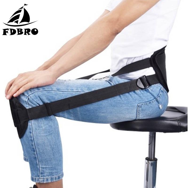 FDBRO New Adjustable Sitting Posture Correction Belt Brace Shoulder Lumbar Clavicle Spine Back Support Belt Posture Corrector