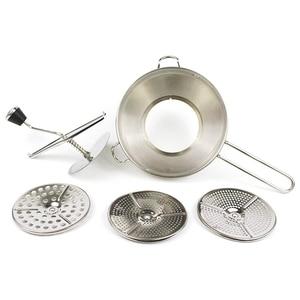 Stainless Steel Manual Grinding Machine Baby Food Vegetable Fruit Jam Potato Crushing Grinder|Blenders| |  -
