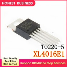 1PCS XL4016E1 TO220-5 XL4016 TO220 4016E1 40V 8A chip schritt-down-IC DC-DC(China)