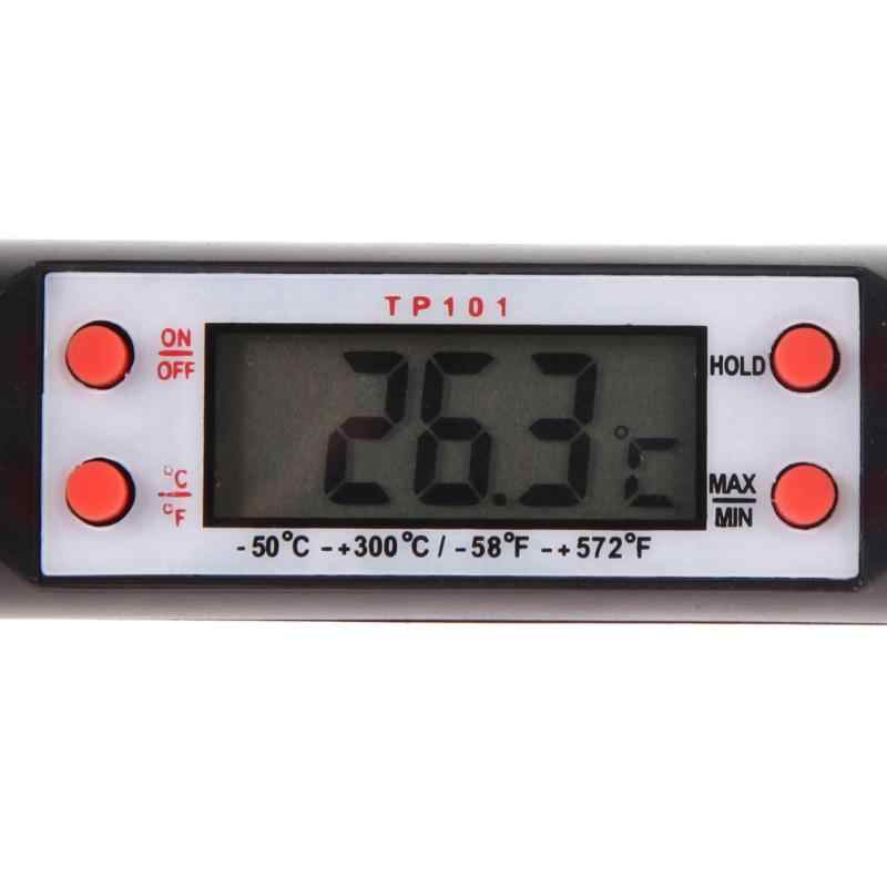 متعددة الوظائف الرقمية مقياس حرارة للمطبخ للشواء الطبخ الإلكترونية مسبار الطعام مقياس الحرارة