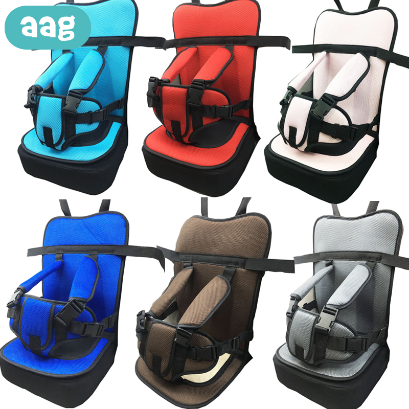 AAG Baby Safety Seat Child Chair Seat Cushion Pad Kids Dinning Chair Stroller Travel Mat Belt Baby Chair Carrier Seatcushion