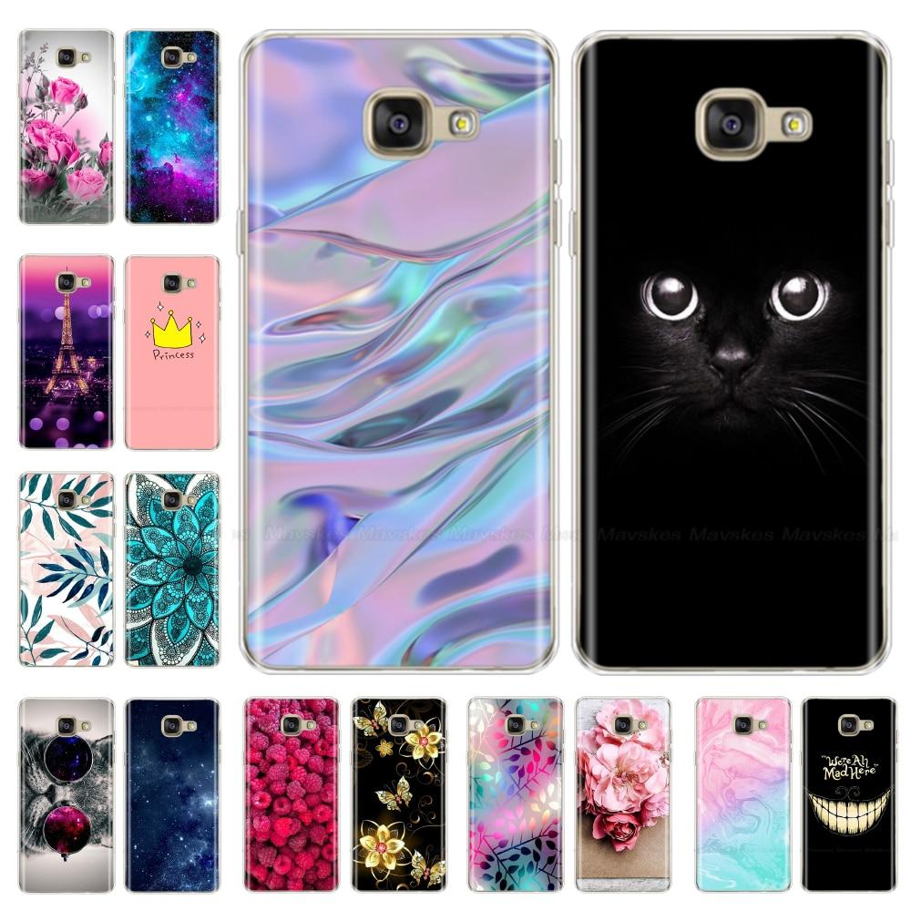 Silicone Case For Samsung Galaxy A5 2017 2016 A520 A510 F Case 5.2