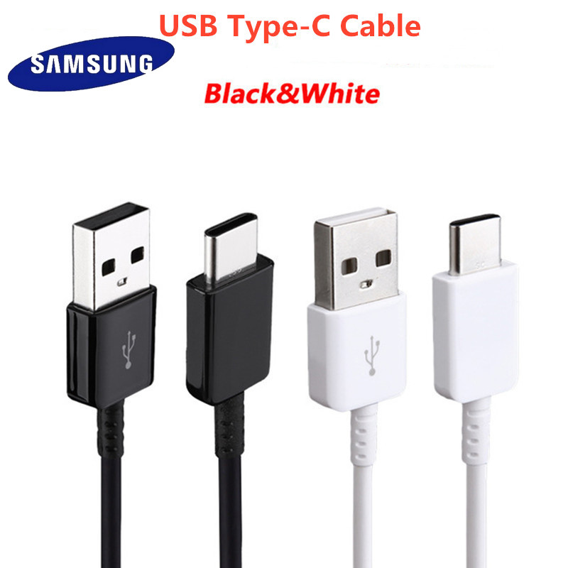 Original <font><b>Samsung</b></font> A20 A50 A70 A80 Type C <font><b>Cable</b></font> quick fast charge Data line <font><b>USB</b></font> 3.1 Type-C for Galaxy <font><b>S9</b></font> S10 Plus S10e Note 8 9 10 image