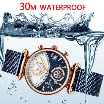 שעון עמיד למים אוטומטי לגבר