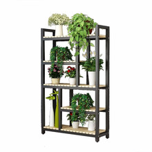 Estante Indoor Estanteria Para Plantas Wood Wooden Shelves For Ladder Plant Stojak Na Kwiaty Balcony Shelf Outdoor Flower Stand(China)