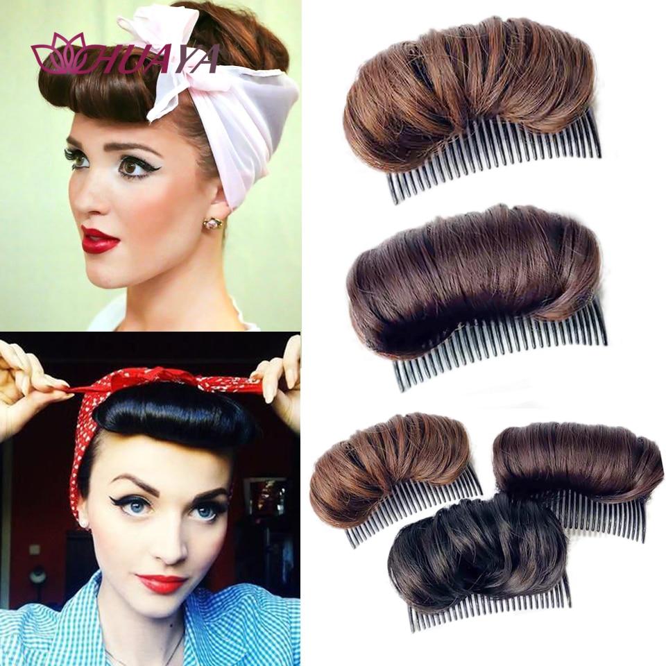 Хуая пучок волос клип принцесса укладки волос пушистые тапочки женские меховые тапочки, парик, заколки, заколки для волос, трессы, заколки для волос колодки гребень пончик-шиньон на вставьте накладные женские аксессуары для волос