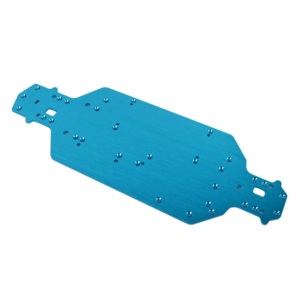 1/10 Metal Chassis Floor <font><b>04001</b></font> 03001 for HSP RC Off-Road Buggy Car 94111 94123 image