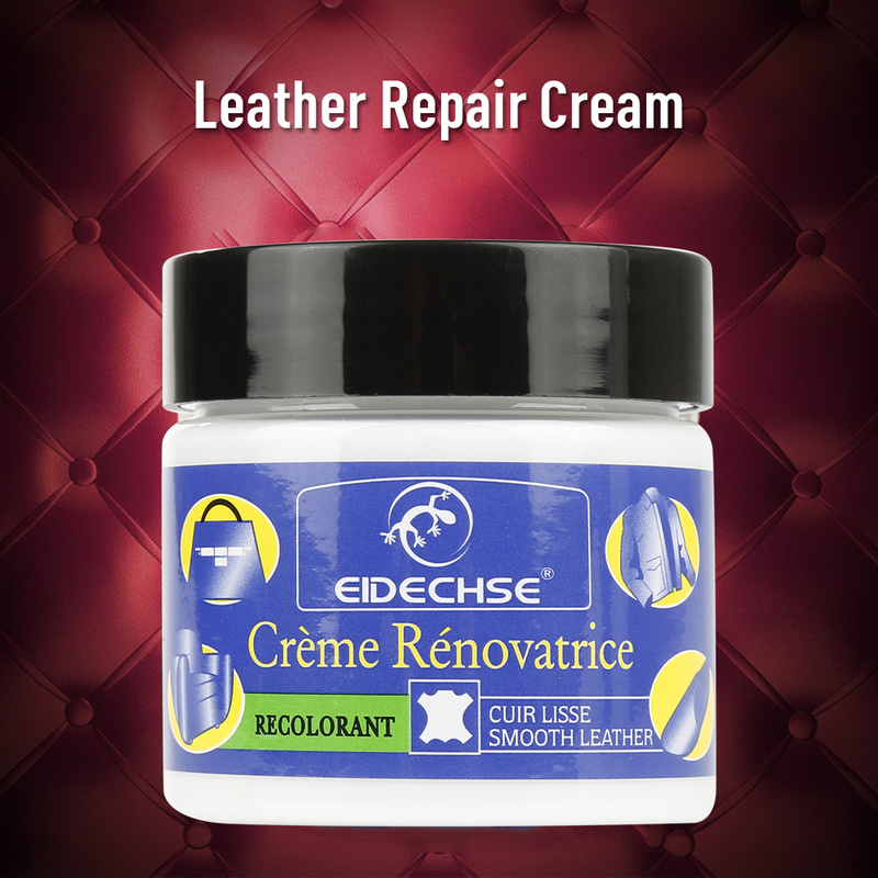 Drop Ship Multifunctional Leather Cleaner Refurbished Repair Cream for Car Seat Sofa Renew Decontamination Cleaning Tool 50ML