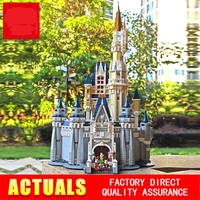 The Disneys Castle Compatible 71040 lepinblocks 16008 Building Blocks Bricks Educational Toys Birthdays Gifts For Children