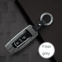For Vw Key Case Carbon Fiber Zinc Alloy Car Key Cover For Vw Key For Volkswagen Touareg V6 R line 2019 2020 Key Fob High Quality|Key Case for Car| |  -