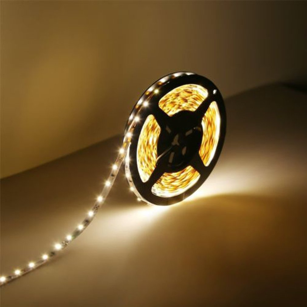 LED Strip Light Home Decoration 5M 300 LED Waterproof Flexible Warm Cool White Strip Light
