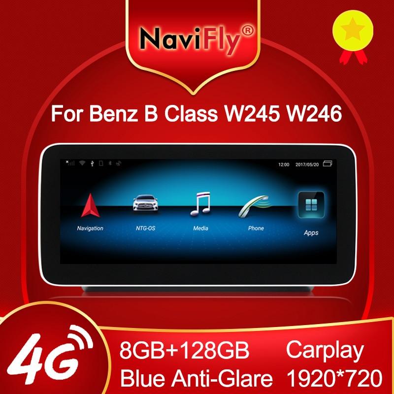 NaviFly для Mercedes Benz B-Class W246 B200 B180 B220 B260 2011 до 2018 Android автомобильный мультимедийный видео плеер навигация GPS