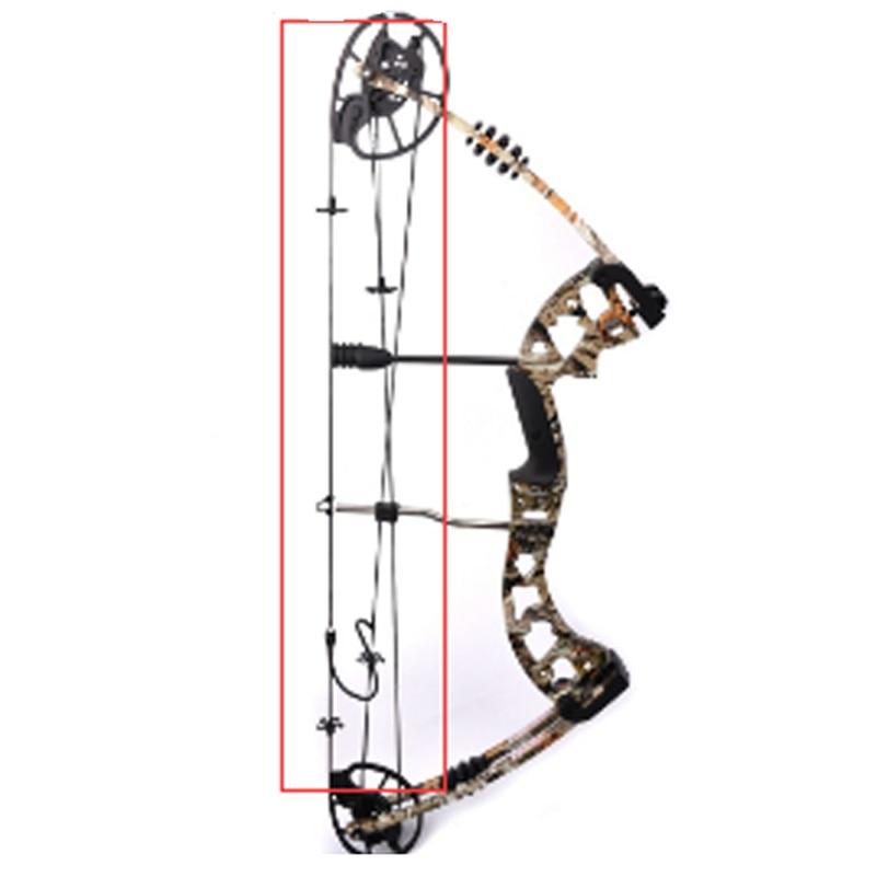 M125 Verbindung Bogen String Fit DIY Verbindung Bogen für Outdoor Bogenschießen Jagd Zubehör