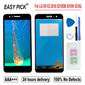 Image 2 - For LG K9 X210EM X210K X210L X210S X210E X210NMW LCD Display Touch Screen Digitizer Assembly For LG X2 2018 X210 ZM X210JM