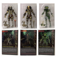 Original NECA The Emissary Predator 18cm PVC Action Figures Model Toys Gift