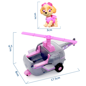 Image 5 - Genuine Paw Patrol Toy Set Toy Car Everest Apollo Tracker Ryder Skye Scroll Action Figure Anime Model Toys for Children Gift