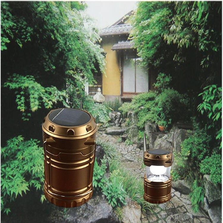 Solar Hand Lantern Outdoor Camping Solar Light Retro Solar Charging LED Lantern|Outdoor Landscape Lighting| |  - title=