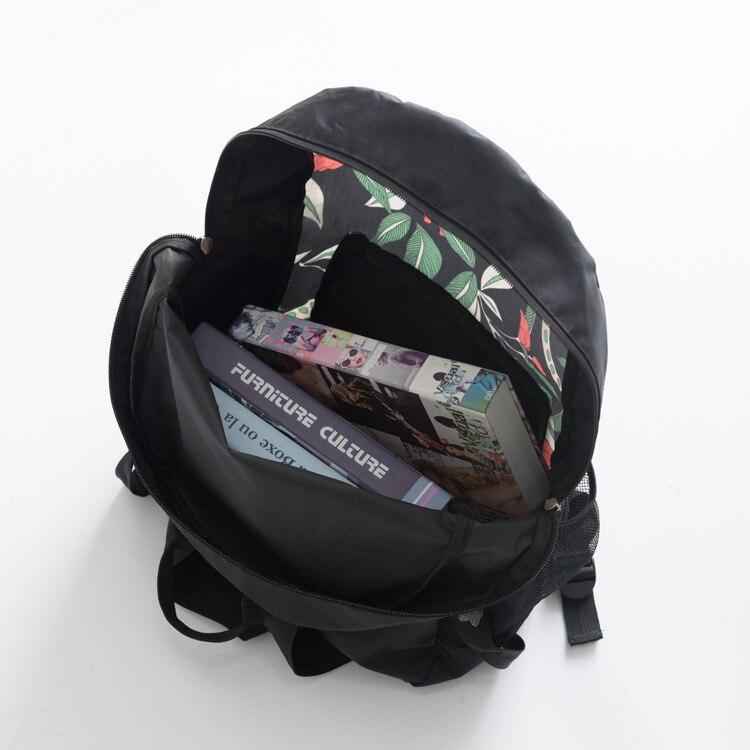 Origional Product Printed Travel Backpack Dacron Waterproof School Bag Outdoor Casual Large Capacity Travel Bag 2