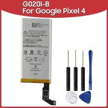 Batterie de remplacement 2800mAh, pour téléphone Google Pixel 4, G020I B