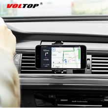 360 Rotatable Phone Holder Car Accessories Air Outlet Lazy Universal Mobile Phone Navigation Support Stand Auto Supplies