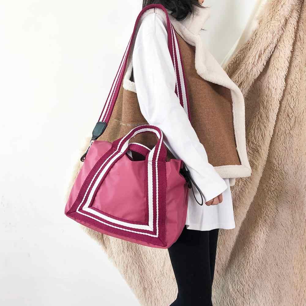 Bolso cruzado para mujer, bolso de hombro para mujer, bolso de alta capacidad para mujer, bolso organizador de Fitness Oxford, bolso negro/azul/rosa/verde