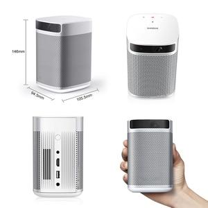Image 3 - XGIMI Mogo Mini projektor Beamer z akumulatorem 10400mAH przenośny projektor Android 9.0 3D kino domowe Wifi LED projektor imtv