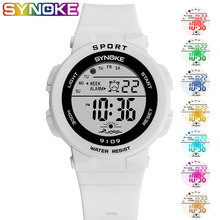 SYNOKE Fashion Kids Students Watches 5Bar Waterproof Childre