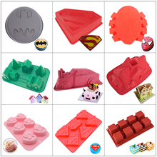 3D Silicone Cake Mold DIY Decorating Tools Mousse Dessert Baking Ice Cream Chocolate Tray