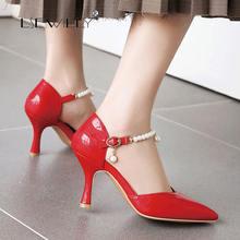 Lsewilly summer 2020 high heels women shoes thin wedding shallow