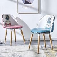 Iskandinav INS Metal Deri Makyaj Koltuğu yemek sandalyeleri Yemek Odaları için Restoran Mobilya Oturma Odası Mutfak Cafe yemek sandalyeleri