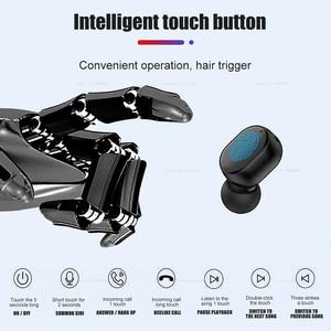Image 3 - Мини наушники вкладыши S8, Bluetooth 5,0, сенсорное управление, гарнитура с микрофоном, спортивные наушники, Беспроводные Hi Fi наушники громкой связи
