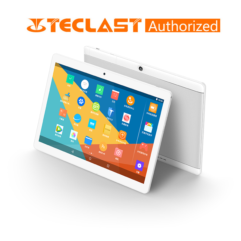 Teclast X10 10.1 Inch 3G Phone Call Tablet 1280*800 MTK 6580 Quad Core Android 6.0 1GB RAM 16GB ROM Tablets PC GPS Dual Camera
