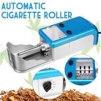 Blue Electric Automatic Cigarette Rolling Machine with Density Regulation Function Tobacco Smoker Maker Roller
